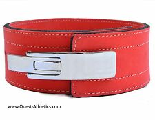 Quest Varsity Lever Belt Weightlifting Powerlifting Strongman Inzer - Peach