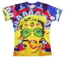 Miley Cyrus Psychedelic 3D Fun T-shirt #WD056