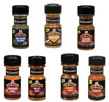 McCormick Grill Mates Seasoning Shakers - 6 Small Tubs