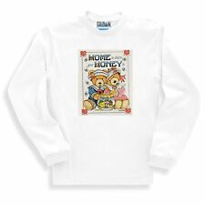 Country LONG sleeve T-shirt Home is where honey is teddy bear bees