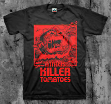 ATTACK OF THE KILLER TOMATOES - Movie T Shirt (Classic Cult Comedy Horror)