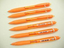 6Pcs Uni-Ball JetStream SXN-150C Retractable 0.7mm Ball Point Pen, ORANGE