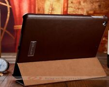 Sale iCarer Genuine Leather Case Cover For iPad Air With Stand / Sleep / Wake