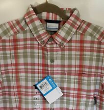 Columbia- Rapid Rivers Men's Short Sleeve Shirt $45 NWT