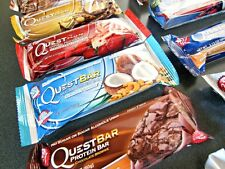 QUEST PROTEIN BARS BOX OF 24 ! FREE PRIORITY SHIPPING! FRESH BARS! LATEST EXPIRY