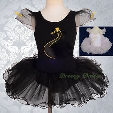Swan Ballet Tutu Ballerina Dancewear Fairy Dress Costume Child Girl Size 2-7 045