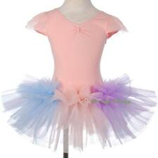 Colourful Ballet Tutu Dancewear Dance Costume Fancy Fairy Dress Kid Size 3-8 058