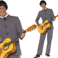 Mens Beatles Fancy Dress Costume 1960s / 60s Pop Icon British Music Outfit