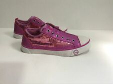 New UGG 7,10 US W LAELA SPARKLES Pink Raspberry fashion SNEAKERS