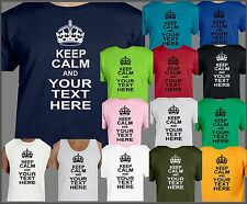 Keep Calm and Custom add own text, words anything you want personalized queen
