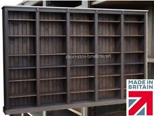 Large Solid Pine Bookcase, 7ft x 11ft Heavy Duty, Handcrafted, Library Shelving