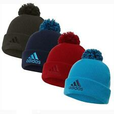 2015 Adidas Double Knit Thermal Cuff Beanie Mens Golf Bobble Hat