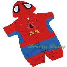 Spiderman Superhero One Piece Romper Playsuit Baby Fancy Costumes 00 0 1 2 #014