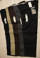 DICKIES WP873 Slim Straight Work Pants 30 32 33 34 36 38 40, Inseam 30 32 34