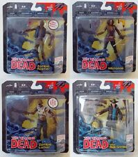 Very Rare - McFarlane Toys - The Walking Dead Comic Book Series 1 Action Figures