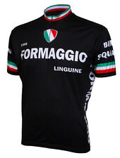 World Jerseys 1968 Retro Formaggio Cycling Jersey Mens Short Sleeve bicycle bike