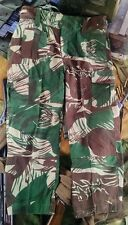 Rhodesian Camouflage Combat Trousers - New Reproduction