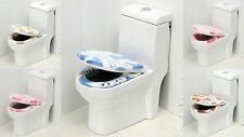 1PCS BATHROOM RUG CONTOUR MAT TOILET LID COVER SET BATH MATS MANY COLOR & STYLES
