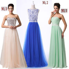 CHEAP CHRISTMAS XMAS WEDDING Long Prom PROM COCKTAIL Formal Evening Party DRESS