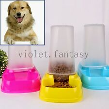 Portion Control Dog Cat Pet Automatic Feeder Dispenser Meal Tray Water Food Bowl