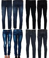 Womens Ladies Plus Size Denim Slim Fit Stretch Jeans Size 14 16 20 22 26 28