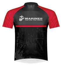 Primal Wear US Marines Battalion USMC Cycling Jersey Men's Short Sleeve with Sox