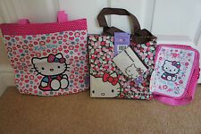 Hello Kitty Kids Bag or Purse School Book Bag Fun Birthday Gift Present NEW