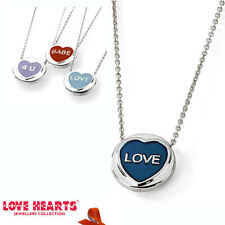 LOVE HEARTS JEWELRY COLLECTION STERLING SILVER MINI ENAMELED PENDANTS