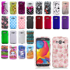 Samsung Galaxy Avant G386 Snap On Hard Shell Case Cover T-Mobile