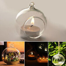 New Crystal Glass Hanging Candle Holder Candlestick For Wedding/Dinner Decor