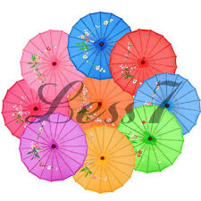 Japanese Chinese Asian Umbrella Art deco Parasol design wedding party 10 Colors