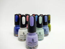 China Glaze Nail Polish AVANT GARDEN Assorted Colors .5oz/15ml