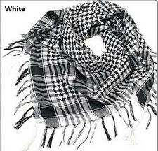 HOT Arab Shemagh Keffiyeh Military Tactical Palestine Light Scarf Shawl