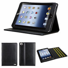 100% NEW Genuine Leather Case Stand Cover for iPad Mini 3 Release on 2014