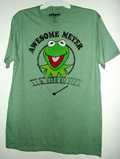 NEW MUPPETS T SHIRT by DISNEY sz M XL or XXL  KERMET THE FROG  AWESOME METER