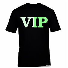 GLOW IN THE DARK VIP T SHIRT ★ tee t-shirt s gift very important person present