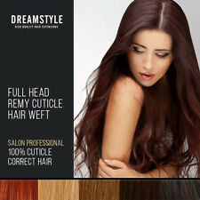 True Remy cuticle 100%  Human Hair Extension Weft