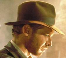 NEW QUALITY AUTHENTIC Indiana Jones Harrison Ford SATIN Lined Wool Fedora Hat