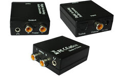 2015New Digital Optical Coaxial Toslink Signal to Analog Audio Converter Adapter