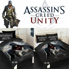 Assassin's Creed Unity Single/Double Panel Duvet Cover Bed Set New Gift
