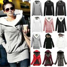 Women's Winter Coat Hooded Pullover Jacket Outwear Warm Overcoat Cardigans Warm