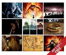 A3 THE LORD OF THE RINGS Poster Options JRR Talkien HOME WALL DECOR LOTR Print