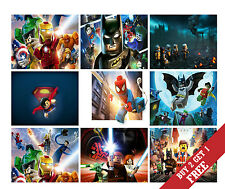 A3 THE LEGO MOVIE 42X30cm Poster OPTIONS Children's Wall Room Deco Animation Art