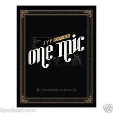 JYP NATION KOREA 2014 - ONE MIC (Limited) (CD+PhotoBook+Poster+Gift) 2PM, MISS A