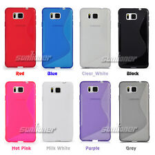 Silicone TPU Gel Case for Samsung Galaxy Alpha Alfa G850A G850F+Screen Protector