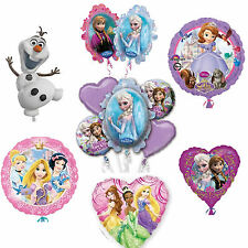 Disney Princess Frozen Anna Elsa Olaf Sofia Birthday Party Balloons Decorations