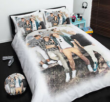 Design 4 ONE DIRECTION 1D Quilt Doona Cover Set - SINGLE DOUBLE QUEEN