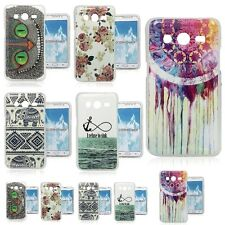 Various Painted Soft TPU Skin Back Cover Case For Samsung Galaxy Core II 2 G355H