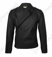 German Army PANZER WRAP Black Wool - All Sizes - WW2 Repro Heer Uniform Jacket