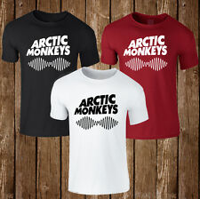 ARTIC MONKEYS mens womens unisex white t shirt top funny dope swag hipster